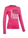 Ortovox: M 185 Long Sleeve Print W футболка женская